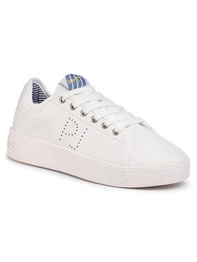Pepe Jeans Sneakersy Brixton Premium PLS30968 Biela
