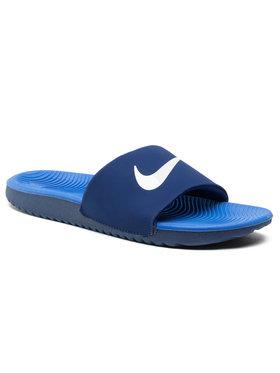 Nike Nike Pantoletten Kawa Slide (GS/PS) 819352 404 Dunkelblau