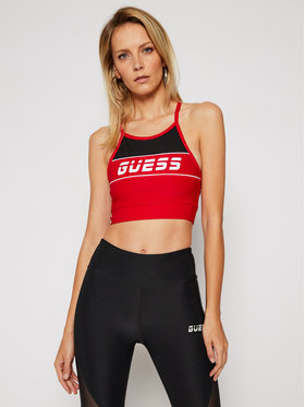 Guess Guess Top Active Bra O0BA75 MC01P Rot Slim Fit