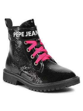 Pepe Jeans Pepe Jeans Scarponcini Hatton Velcro PGS50161 Nero