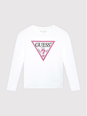 Guess Guess Блуза J1YI36 K6YW1 Бял Regular Fit