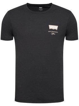 Levi's® Levi's® Marškinėliai Housemark Graphic Tee 22489-0429 Juoda Standard Fit