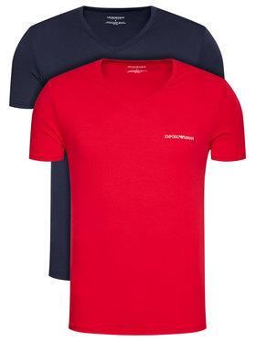 Emporio Armani Underwear Emporio Armani Underwear 2-dílná sada T-shirts 111849 1P717 76035 Tmavomodrá Regular Fit