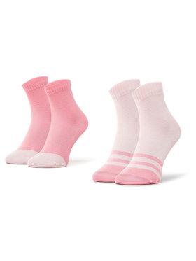 Reima Reima Lot de 2 paires de chaussettes hautes femme MyDay 527347 Rose