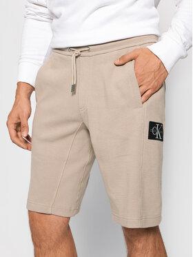 Calvin Klein Jeans Calvin Klein Jeans Szorty sportowe Essentials J30J317986 Beżowy Regular Fit