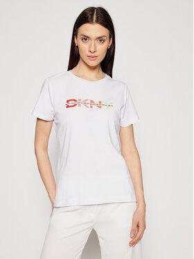 DKNY DKNY Marškinėliai P1BUTDNA Balta Regular Fit
