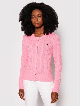 Polo Ralph Lauren Polo Ralph Lauren Kardigan Lsl 211792413006 Růžová Straight Fit