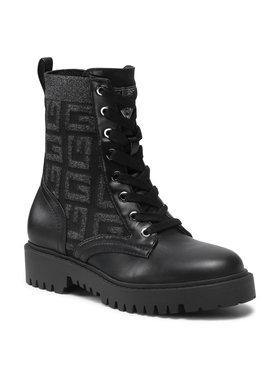 Guess Guess Outdoorová obuv FL5OL3 ELE08 Čierna
