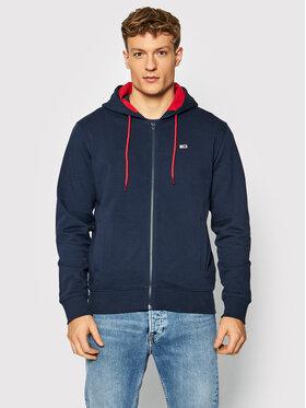 Tommy Jeans Tommy Jeans Bluza Tjm Essential Graphic Zipthru DM0DM11629 Granatowy Regular Fit