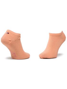TOMMY HILFIGER TOMMY HILFIGER Sada 2 párů dětských nízkých ponožek 301390 Růžová
