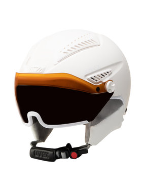 Uvex Uvex Casque de ski Hlmt 600 Visor S5662365004 Blanc