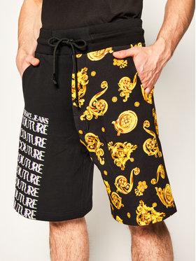 Versace Jeans Couture Versace Jeans Couture Short de sport A4GVB1F5 Noir Regular Fit