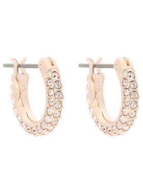 Swarovski Swarovski Ohrringe Stone Pe Mini Hoop 5446008 Rosa