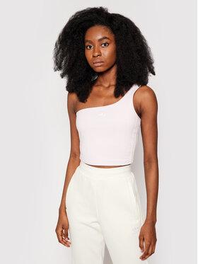 adidas adidas Marškinėliai Tennis Luxe Asymmetrical H56466 Rožinė Regular Fit