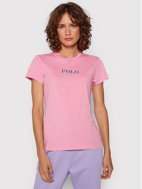 Polo Ralph Lauren Polo Ralph Lauren T-shirt 211847078003 Rose Regular Fit