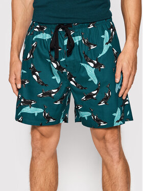 Cyberjammies Cyberjammies Szorty piżamowe William 6624 Zielony