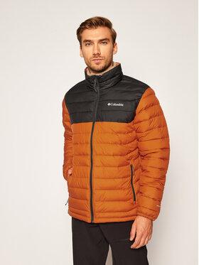 Columbia Columbia Vatovaná bunda Powder Lite 1698001 Oranžová Regular Fit
