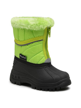 Playshoes Playshoes Śniegowce 193007 Zielony