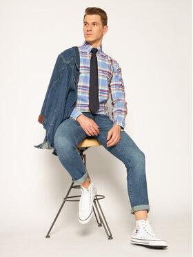 Wrangler Wrangler Blugi Slim Fit Larston W18SV777W Albastru Slim Fit