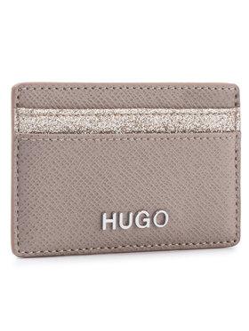 Hugo Hugo Калъф за кредитни карти Victoria Cardh-Gl 50424208 Бежов