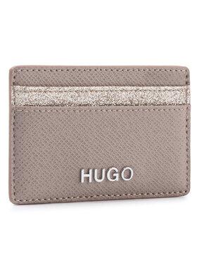 Hugo Hugo Kreditinių kortelių dėklas Victoria Cardh-Gl 50424208 Smėlio