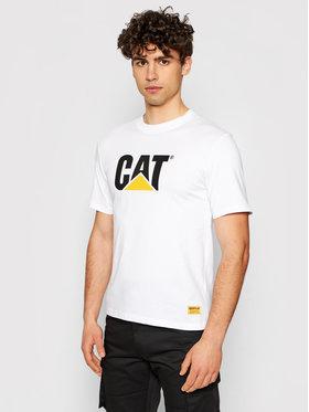 CATerpillar CATerpillar T-Shirt 2511243 Biały Regular Fit