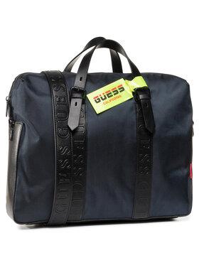 Guess Guess Τσάντα για laptop Dan (NYLON) HMDNNY P0213 Σκούρο μπλε