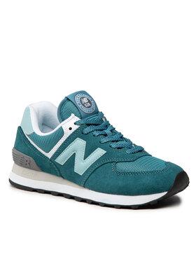 New Balance New Balance Sneakersy WL574HC2 Zielony
