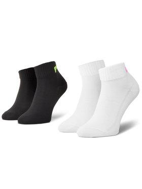 Levi's® Levi's® Súprava 2 párov kotníkových ponožiek unisex 37157-0460 Biela