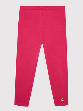 United Colors Of Benetton United Colors Of Benetton Legginsy 3MT1I0019 Różowy Slim Fit