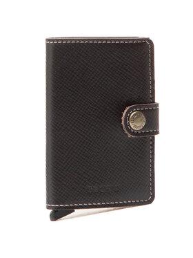 Secrid Secrid Malá pánska peňaženka MSa Miniwallet Hnedá