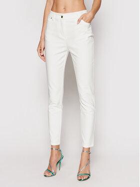 Marciano Guess Marciano Guess Pantalon en tissu 1GG113 9544Z Blanc Slim Fit