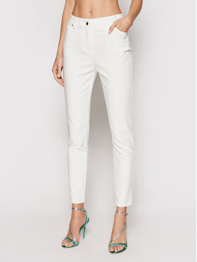 Marciano Guess Marciano Guess Pantaloni di tessuto 1GG113 9544Z Bianco Slim Fit