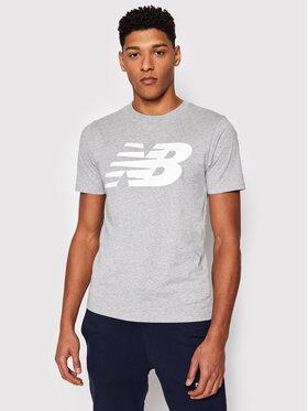 New Balance New Balance T-Shirt Classic New MT03919 Szary Regular Fit