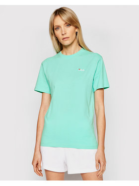 Fila Fila T-Shirt Eara 687469 Zielony Regular Fit