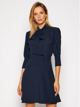 Victoria Victoria Beckham Victoria Victoria Beckham Košilové šaty Fluid Cady 2420WDR002066B Tmavomodrá Regular Fit