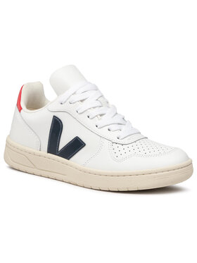 Veja Veja Sneakers V-10 Leather VX021267A Blanc