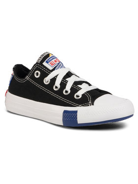 Converse Converse Plátěnky Ctas Ox 366992C Černá