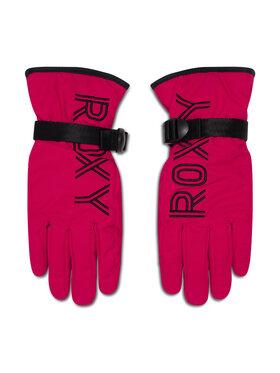 Roxy Roxy Lyžiarske rukavice ERJHN03167 Ružová