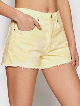 Levi's® Levi's® Pantaloni scurți de blugi 501® Original 56327-0197 Galben Regular Fit
