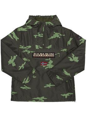 Napapijri Napapijri Átmeneti kabát Rainforest Camu W NP0A4EPG D Zöld Regular Fit