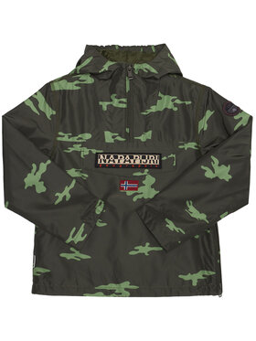 Napapijri Napapijri Kurtka anorak Rainforest Camu W NP0A4EPG D Zielony Regular Fit