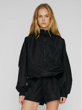 ROTATE ROTATE Átmeneti kabát Perusia RT502 Fekete Oversize