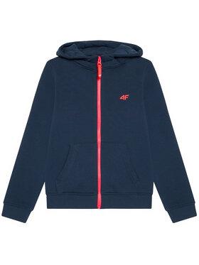 4F 4F Sweatshirt JBLD001A Bleu marine Regular Fit