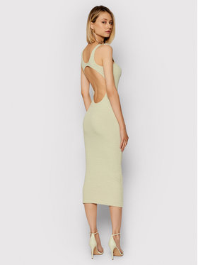 Remain Remain Повсякденна сукня Elvirah RM482 Бежевий Slim Fit