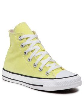 Converse Converse Sneakers aus Stoff Ctas Hi 170154C Gelb