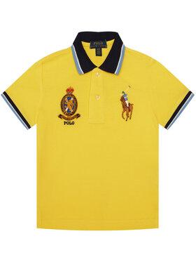 Polo Ralph Lauren Polokošeľa Spring II 321786337 Žltá Regular Fit