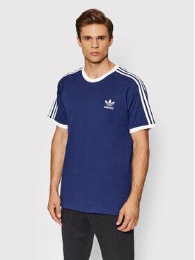 adidas adidas T-Shirt adicolor Classics 3-Stripes Tee H37760 Granatowy Slim Fit