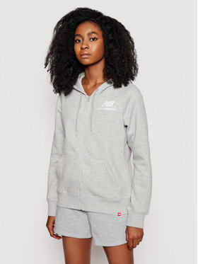 New Balance New Balance Džemperis Essentials WJ03535 Pilka Relaxed Fit