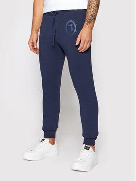 Trussardi Trussardi Spodnie dresowe Fleece Brushed 52P00204 Granatowy Regular Fit